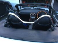 Mazda MX5 Mk1 Stainless Steel Style Bar