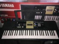 Yamaha large keyboard with digital display. In great condition and come sun original box