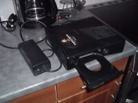 XBOX 360 CONSOLE AND POWER LEAD... LASER NEEDS CLEANING.. WORKING..