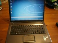 "LAPTOP,HP REFURBISHED,SOUND issue, 15.4"" ,WIFI NET.DVDRW DRIVE,1GB .WINDOWS 7/OFFICE 2010,CHARGER"
