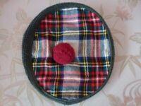 Scottish Tam O'Shanty original wool For Sale