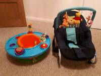 Baby rocker and activity