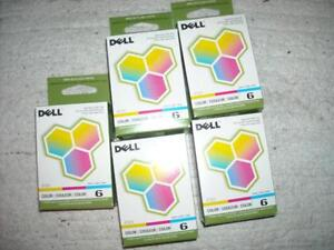 For Sale:NEW PRICE:     5 DELL INK CARTRIDGE'S   New