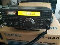 Yaesu ft 840 hf transceiver box'd mint condition