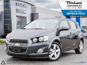 2016 Chevrolet Sonic LT SUNROOF   MYLINK   LOW KMs   14% OFF