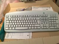 Logitech Deluxe Access Keyboard Brand New