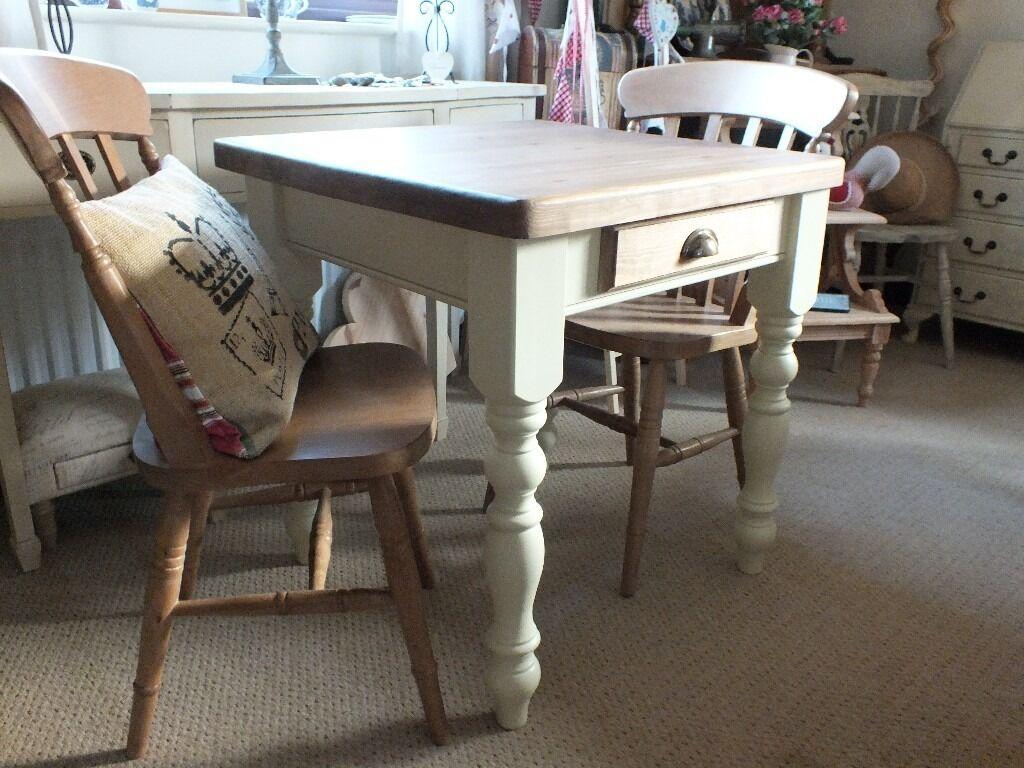 Pine Farmhouse Kitchen Table Lovely Shabby Chic Rustic Style Pine Farmhouse Kitchen Table And