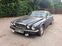 Jaguar series 3 1988 V12 sovereign barn find- for complete restoration