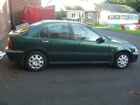 ROVER 45 2l diesel 5 door. Needs minor fixes. Bargain for a mechanic or for in-demand Rover spares.