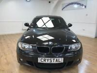 BMW 1 SERIES 2.0 116D M SPORT 5d 114 BHP 6 MONTHS WARRANTY (black) 2011