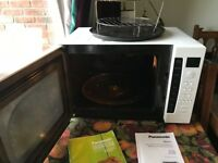 Panasonic Microwave/Grill/Convection oven with accessories