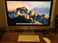 iMac (27-inch, Late 2013) / 3.4 GHz Intel Core i5 / 8 GB 1600 MHz DDR3 - swap for ultrabook