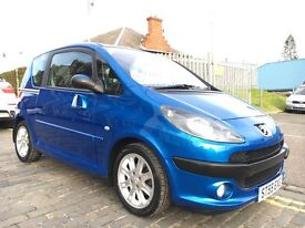 PEUGEOT 1007 SPORT AUTO,55 PLATE 2005...69,000 MILES...F.S.H...RARE AUTO WITH BIG FEATURES!!!!