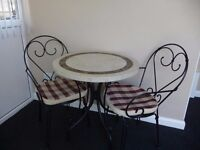 2 SEAT BISTRO PATIO SET.