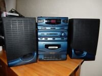 Bush MC109CD CD Micro system - CD , radio and Cassette Tape - as new