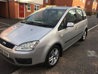 FORD FOCUS C MAX ZETEC - 1.8 - 56 PLATE (2006) - 12 MONTHS MOT - IMMACULATE