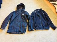 Boys age 10/12 Northface Triclimate waterproof jacket.