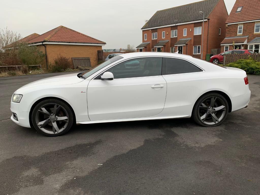 Audi a5 sline white 2009 | in Cramlington, Northumberland | Gumtree
