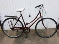Raleigh Cameo Ladies Town Bicycle For Sale in Great Riding Order