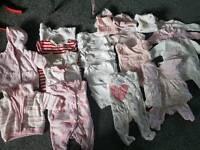 Tiny baby girls bundle