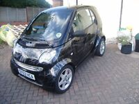 2003 MERCEDES SMART CITY PULSE 61 SEMI- AUTO COUPE 36000 MILES WITH SERVICE HISTORY