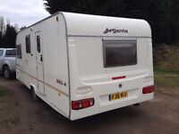 avondale argente 4 berth 2004 year 1 owner from new motor mover ready for holidays