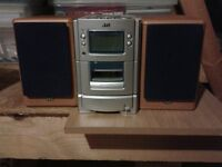 JVC Music System 2 in 1