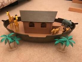Noah's ark children's toy