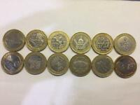 Rare Collectable Royal Mint £2 Coins (Sold Individually)