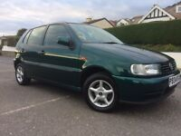 Vw Polo 1.4se 1996 p 1 owner just 69000 miles 21 service stamps all invoices kept showroom condition