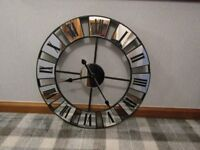 mirrored clock