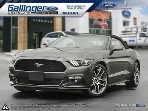 2016 Ford Mustang ECOBOOST w/NAVIGATION AND WHEEL UPGRADE