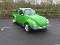 Volkswagen Beetle 1303 S - The one to have - MOT Feb 2019 (green) 1974