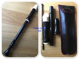 Various Aulos Recorders