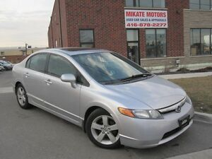 CLEAN 2007 HONDA  CIVIC EX AUTO 173 KM $6,999 CERTIFIED E TESTED