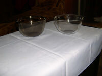 Pyrex and Arcopal France Glass Bowls