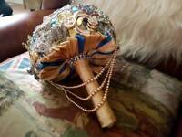 Customised brooch bouquet wedding arrangements for sale