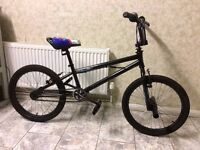 """KIDS BOYS CHILDREN ZINC 20"""" WHEEL WITH SPINNING HANDLE AND STUNT PEGS BMX BIKE BICYCLE"""