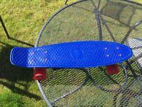 Penny 22 inch cobalt skateboard for sell!