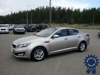 2013 Kia Optima LX+ Front Wheel Drive Silver Sedan - 18,181 KMs