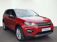 Land Rover Discovery Sport TD4 SE TECH (red) 2017-01-10