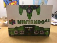 Boxed Green Funtastic Nintendo 64 Console (N64) £150.00