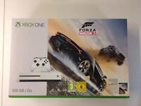 Xbox one s + Forza 3