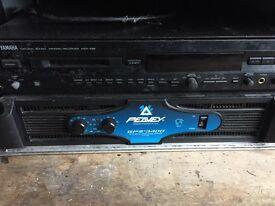 Peavy GPS3400 Power Amp & Soundcraft Spirit Power Station 600