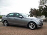 2007 MERCEDES C CLASS C220 CDI* ONLY 85000 GENUINE MILES *LOVELY CAR!!!