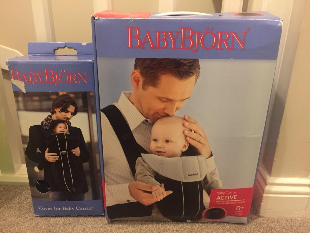BabyBjörn Baby Carrier and Cover