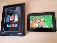 "As New Boxed Amazon Kindle Fire HD Android Tab ,7"" HD,16GB,Wifi+Camera,Dual Speaker,tablet"