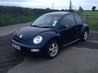2003 VOLKSWAGEN BEETLE DIESEL 123,000 MILES MOT'D JULY 2017 EXCELLENT CONDITON INSIDE AND OUT