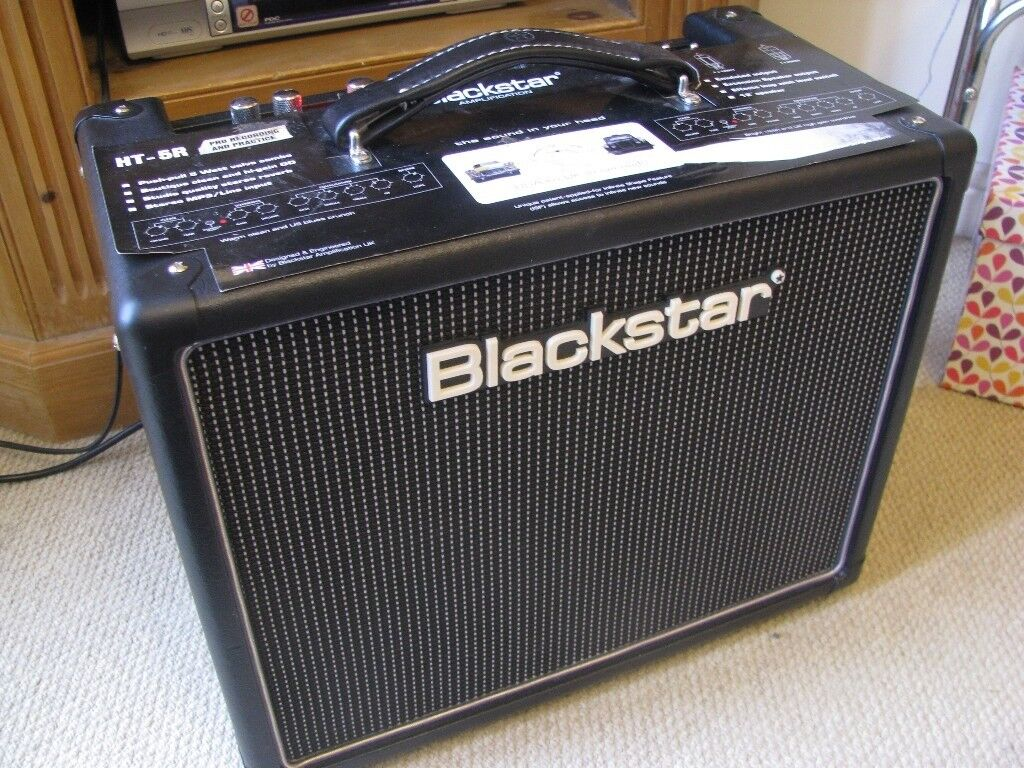 blackstar ht 5r valve combo 5 watt guitar tube amplifier amp with reverb in lichfield. Black Bedroom Furniture Sets. Home Design Ideas