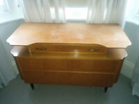 Solid vintage chest of drawers